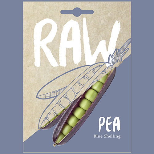 Pea Blue Shelling