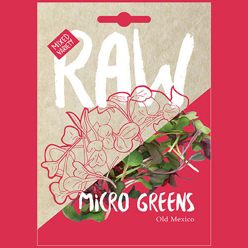 RAW Micro Greens Old Mexico
