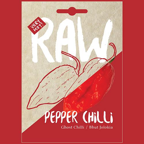 RAW Pepper Chilli Ghost Chilli / Bhut Jolokia (BEYOND HOT)