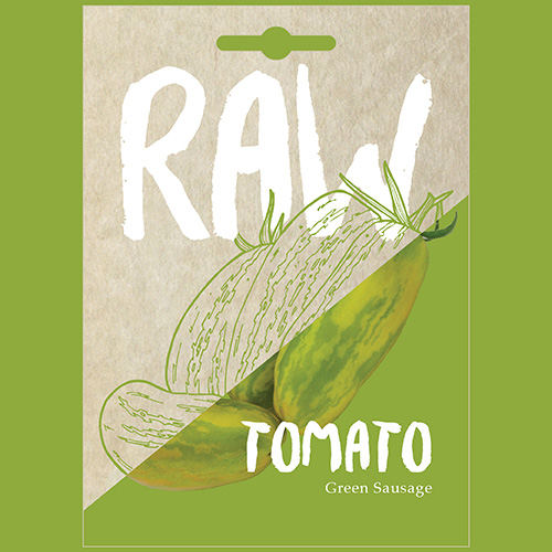 RAW Tomato Green Sausage