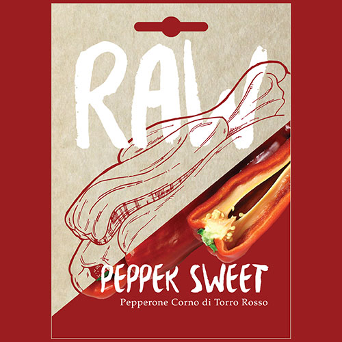 Pepper Sweet Pepperone Corno di Torro Rosso