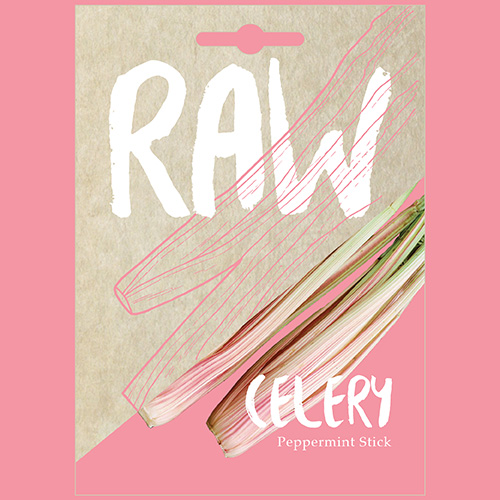RAW Celery Peppermint Stick