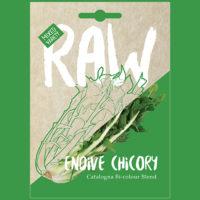 RAW Endive Chicory Catalogna Bi-colour Blend