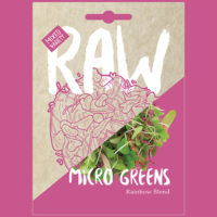 RAW Micro Greens Rainbow Blend